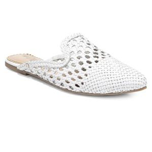SAM EDELMAN Navya Woven Leather Mules, 7